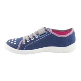Încălțăminte pentru copii Befado 251Q109 albastru roz gri 2