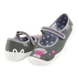 Încălțăminte pentru copii Befado 114Y370 roz gri 4
