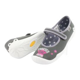 Încălțăminte pentru copii Befado 114Y370 roz gri 5