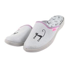 Papuci Befado pantofi copii 707Y398 gri 3