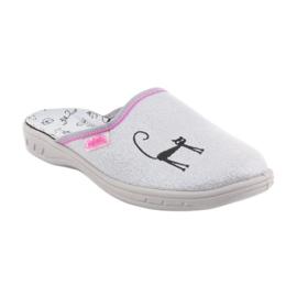 Papuci Befado pantofi copii 707Y398 gri 1