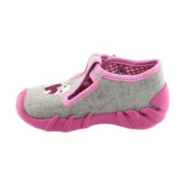 Încălțăminte pentru copii Befado 110P338 roz gri 2