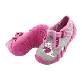 Încălțăminte pentru copii Befado 110P338 roz gri 4