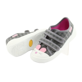 Încălțăminte pentru copii Befado 907P108 roz gri 4