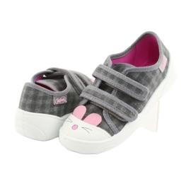 Încălțăminte pentru copii Befado 907P108 roz gri 3
