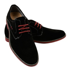 Pantofi eleganti negri 6-688 negru 3