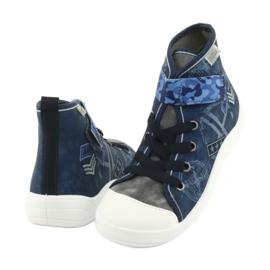 Încălțăminte pentru copii Befado 268Y071 albastru marin albastru gri 3