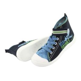 Încălțăminte pentru copii Befado 268Y066 albastru marin albastru verde 4