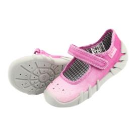 Încălțăminte pentru copii Befado 109P195 roz gri 5