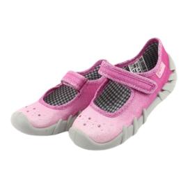 Încălțăminte pentru copii Befado 109P195 roz gri 3