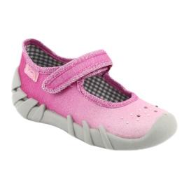Încălțăminte pentru copii Befado 109P195 roz gri 1