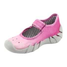 Încălțăminte pentru copii Befado 109P195 roz gri 2