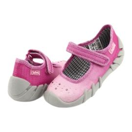 Încălțăminte pentru copii Befado 109P195 roz gri 4