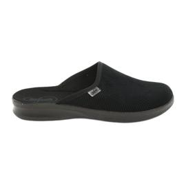 Befado bărbați pantofi pu 548M020 negru 1