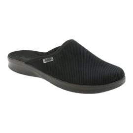 Befado bărbați pantofi pu 548M020 negru 2