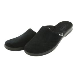 Befado bărbați pantofi pu 548M020 negru 4