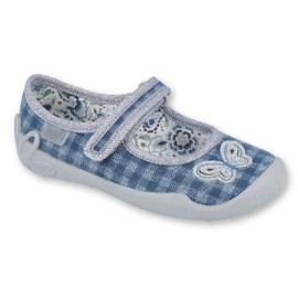 Încălțăminte pentru copii Befado 114X351 albastru gri 1