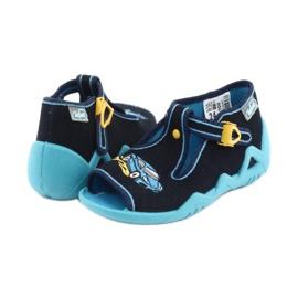 Încălțăminte pentru copii Befado 217P100 albastru marin albastru 4