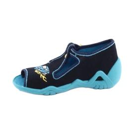 Încălțăminte pentru copii Befado 217P100 albastru marin albastru 2
