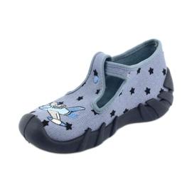 Pantofi pentru copii Befado colorate 110P345 albastru marin albastru 2