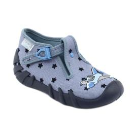 Pantofi pentru copii Befado colorate 110P345 albastru marin albastru 1