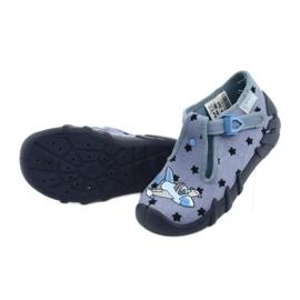 Pantofi pentru copii Befado colorate 110P345 albastru marin albastru 5