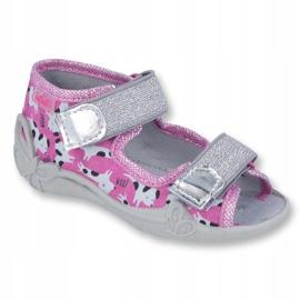 Încălțăminte pentru copii Befado 242P095 roz gri 1