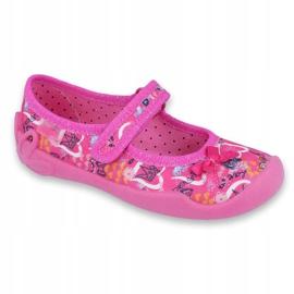 Încălțăminte pentru copii Befado 114X358 roz multicolor 1