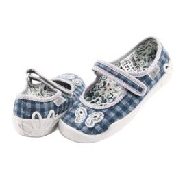 Încălțăminte pentru copii Befado 114X351 albastru gri 5