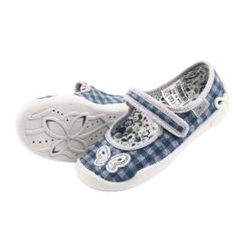 Încălțăminte pentru copii Befado 114X351 albastru gri 6