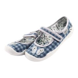 Încălțăminte pentru copii Befado 114X351 albastru gri 3