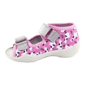 Încălțăminte pentru copii Befado 242P095 roz gri 2