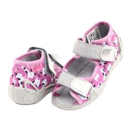 Încălțăminte pentru copii Befado 242P095 alb negru roz gri 3
