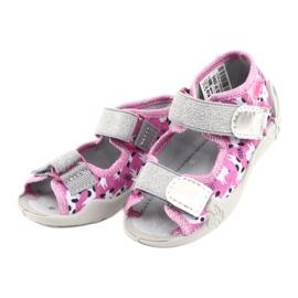 Încălțăminte pentru copii Befado 242P095 alb negru roz gri 2