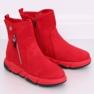 Cizme roșii în stil sport SJ1938 Roșu 2