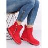 Cizme roșii în stil sport SJ1938 Roșu 5
