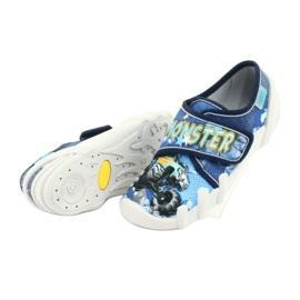 Încălțăminte pentru copii Befado 273X271 albastru marin albastru galben 5