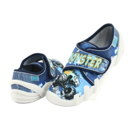 Încălțăminte pentru copii Befado 273X271 albastru marin albastru galben 4