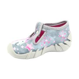 Încălțăminte pentru copii Befado 110P363 roz gri 3