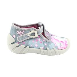 Încălțăminte pentru copii Befado 110P363 roz gri 1