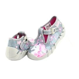Încălțăminte pentru copii Befado 110P363 roz gri 4