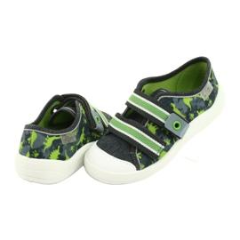 Încălțăminte pentru copii Befado 672X067 gri verde 5