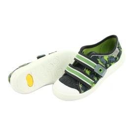 Încălțăminte pentru copii Befado 672X067 gri verde 6