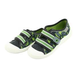Încălțăminte pentru copii Befado 672X067 gri verde 4