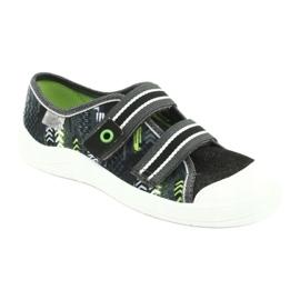 Încălțăminte pentru copii Befado 672Y069 negru gri verde 1