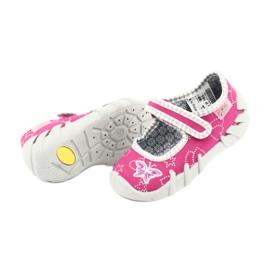 Încălțăminte pentru copii Befado 109P165 roz gri 5