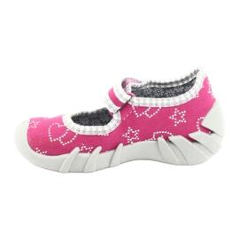 Încălțăminte pentru copii Befado 109P165 roz gri 2