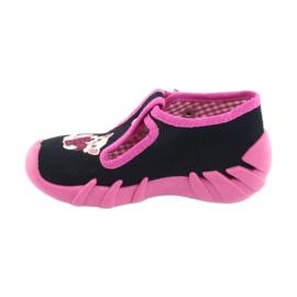Încălțăminte pentru copii Befado 110P336 albastru marin roz 2