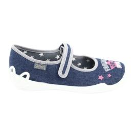 Încălțăminte pentru copii Befado 114Y369 albastru marin albastru gri multicolor 1