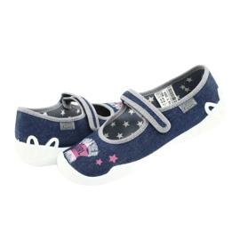 Încălțăminte pentru copii Befado 114Y369 albastru marin albastru gri multicolor 5